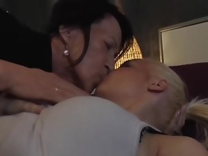Old (67y) and Young (23y) Lesbians