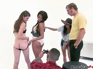 GangBang at the Shoot